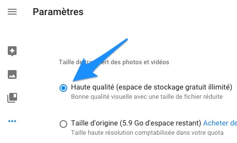 Paramètres_-_Google Photos
