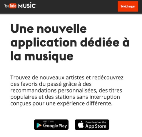 YouTube Music-appli