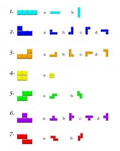 Figures Tetris