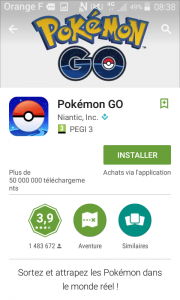 pokemongo android