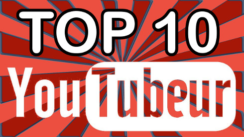 top 10 YouTubeur