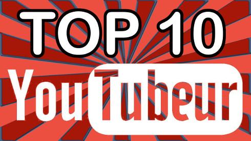 top 10 YouTubeur