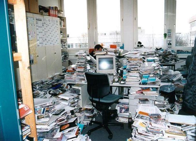 bureau en bordel