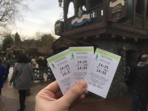Fast Pass Disneyland