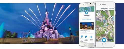 appli Disneyland iPhone et Android