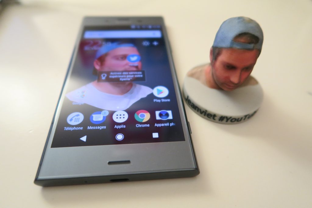 Sony Xperia XZ1 scanner 3D