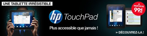 HP Touchpad à 99€