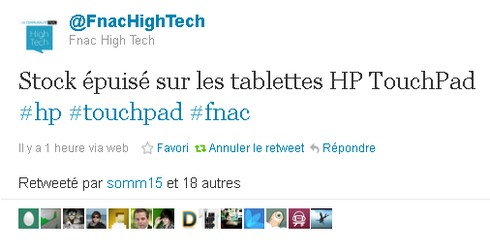 stock hp touchpad