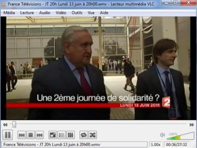 JT France 2 du 13/06/2011