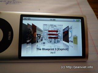 Musique sur iPod Nano