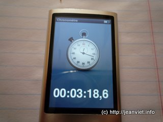 iPod nano Chrono
