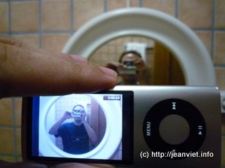 iPod nano caméra