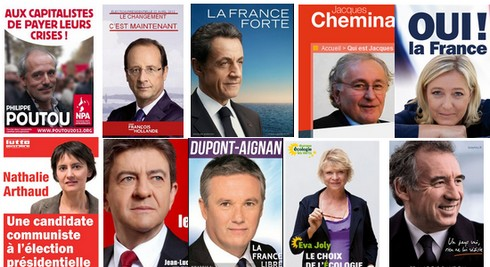 affiches-candidats-presidentielle-2012