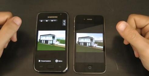 Galaxy S vs iPhone 4