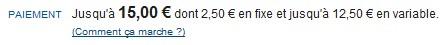 2,50 euros en fait