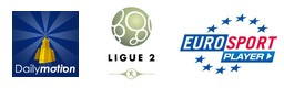 Dailymotion Eurosport = ligue 2
