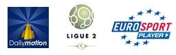 Dailymotion Eurosport = ligue 2