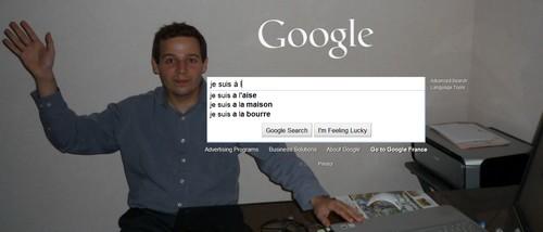 fon d'écran page d'accueil google