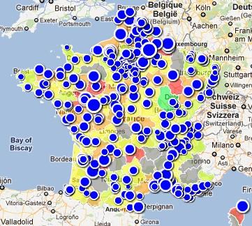 Villes de France pauvres ou riches