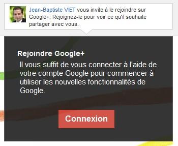Google plus c'est par ici