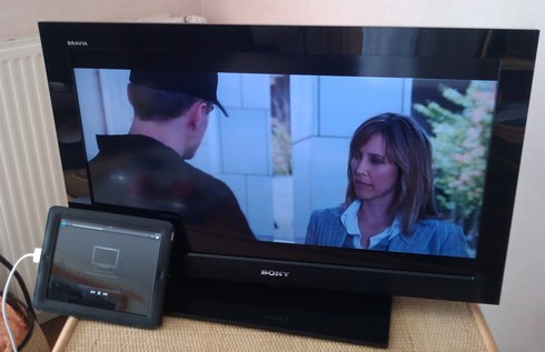 ipad sur tv regarder gratuitement des films et des vid os depuis son ipad. Black Bedroom Furniture Sets. Home Design Ideas