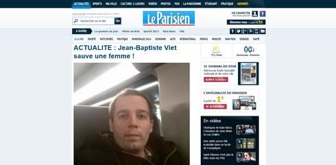 fausse une Le Parisien