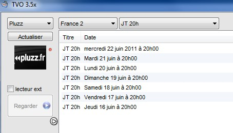 Télécharegr JT France 2  avec TVo