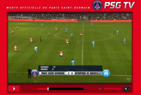 OM - PSG en streaming 2011
