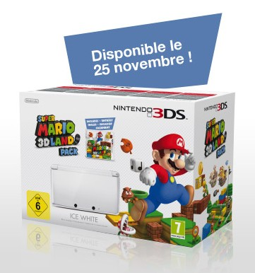 Pack Nintendo 3DS super Mario 3D Land