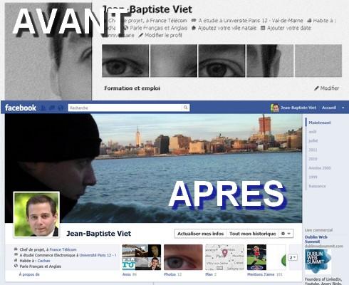 profil timeline facebook