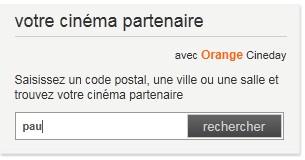 Salle Cineday à Pau ?