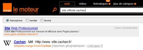 site officiel cachan