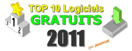 Top 10 Logiciels Gratuits en 2011