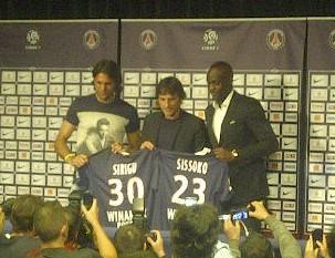 Transferts au PSG