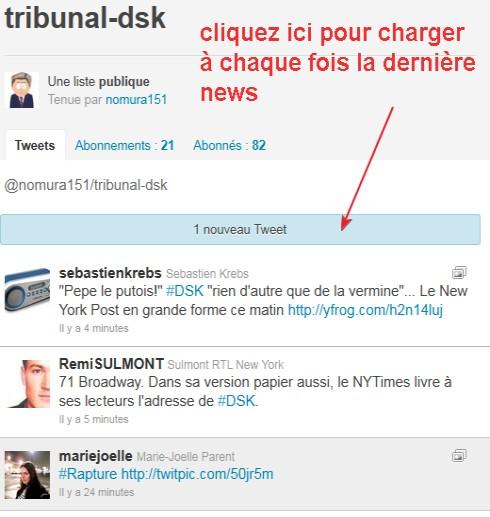 Tribunal live tweet DSK